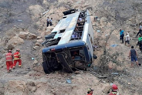 Θρίλερ: 8 νεκροί φίλαθλοι και πάνω από 40 τραυματίες σε τροχαίο με λεωφορείο που τους πήγαινε στο γήπεδο!