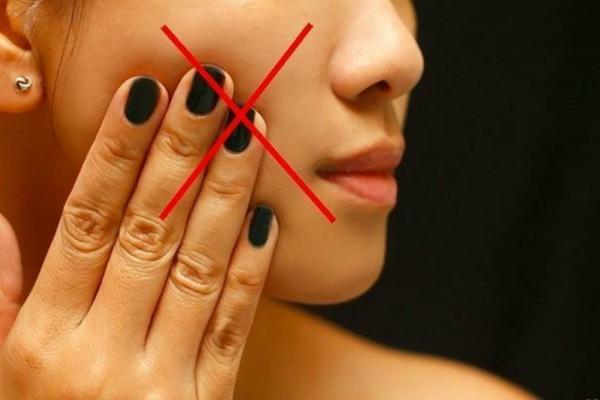 3+1 tips για να αποφύγετε το άγγιγμα του προσώπου σας!