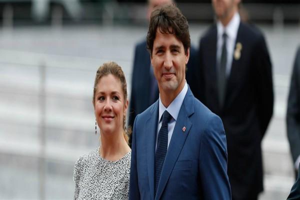 Κορωνοϊός: Θετική η σύζυγος του πρωθυπουργού του Καναδά!