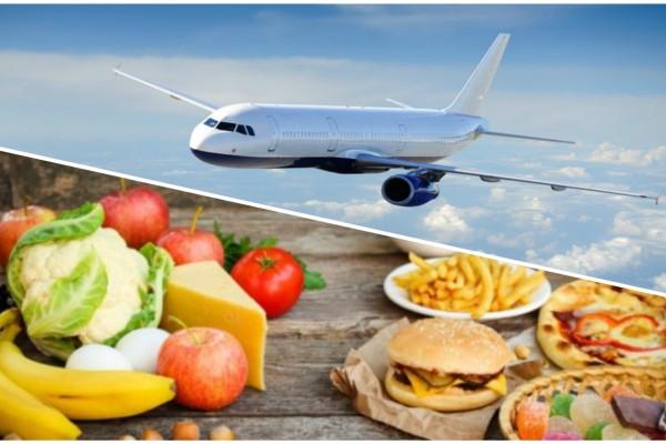 6+1 τρόφιμα που θα πρέπει να αποφύγετε πριν μπείτε στο αεροπλάνο!