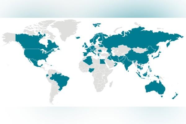 Κορωνοϊός: Δείτε τον χάρτη της εξάπλωσης του φονικού ιού