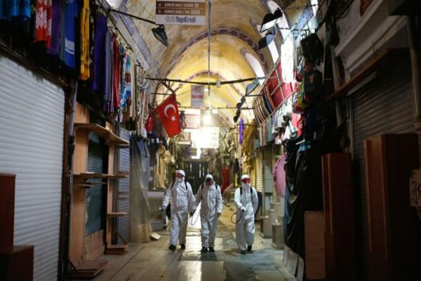 Κορωνοϊός Τουρκία: 92 οι νεκροί - Ξεπέρασαν τις 5.000 τα κρούσματα