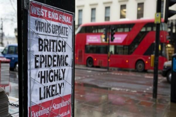 Κορωνοϊός - Βρετανία: Ακόμα 53 νεκροί