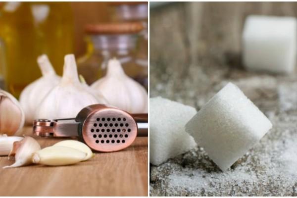 Ανακατεύει σκόρδο με ξύδι και ζάχαρη - Ο λόγος; Θα σας αφήσει άφωνους!
