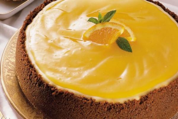 Δροσερό και πανεύκολο cheesecake πορτοκαλιού!