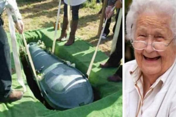 Αυτή η γιαγιά πήρε εκδίκηση από τον άντρα της μετά θάνατον  - Αν δείτε τι έκανε στον τάφο του θα παγώσετε