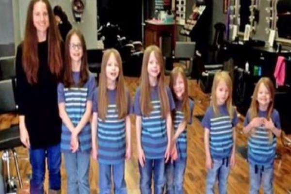 Τα παιδιά στο σχολείο κορόιδευαν τους 6 γιους της για τα κοριτσίστικα μαλλιά τους - Όταν όμως τα έκοψαν αποκαλύφθηκε όλη η αλήθεια