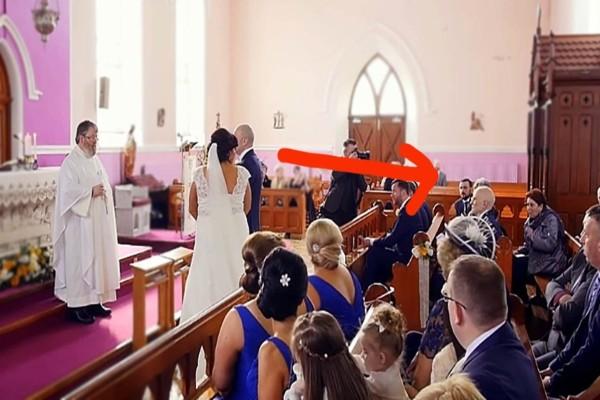 Ήταν έτοιμοι να παντρευτούν όταν ακούστηκε μια φωνή - Μόλις η νύφη είδε ποιος ήταν πήγε να λιποθυμήσει