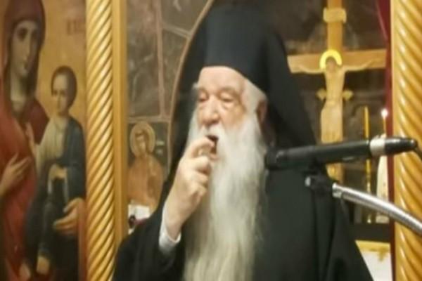 Νέο παραλήρημα Αμβροσίου προς Κυριάκο Μητσοτάκη: «Μη γίνεστε διώκτης του Χριστού - Ο κορωνοϊός κατασκευάστηκε το 1981 στις ΗΠΑ»