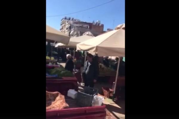 «Ρε μ@λ@κ@ς - Θα πεθάνετε ρε πάτε καλά;» - Άνδρας βγάζει βόλτα το σκύλο του και ξεσπά σε παππούδες και γιαγιάδες... (Video)