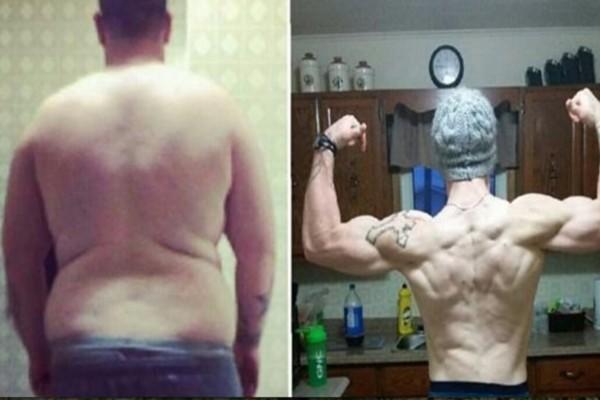 Του είχαν πει ότι θα πέθαινε πριν γίνει 30...Πήρε όμως την απόφαση και έχασε 83 κιλά, μεταμορφώνοντας τον εαυτό του!