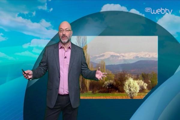 «Προσοχή την Κυριακή, έρχονται ισχυροί άνεμοι και χιόνια»: Ο Σάκης Αρναούτογλου προειδοποιεί! (video)