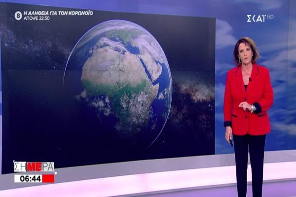 Η Χριστίνα Σούζη προειδοποιεί: «Αν βγείτε από το σπίτι, τότε…» (video)