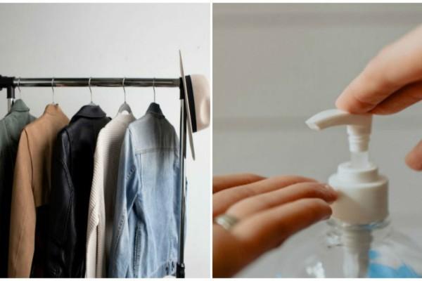 Κορωνοϊός: 13+1 τρόποι για να προστατεύσουμε τα ρούχα και τα παπούτσια μας!