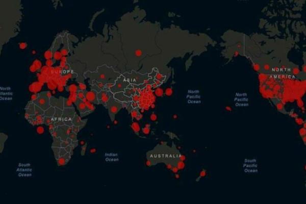 Κορωνοϊός: Ο χάρτης του φονικού ιού - Ποια η κατάταξη και τα ποσοστά κάθε χώρας