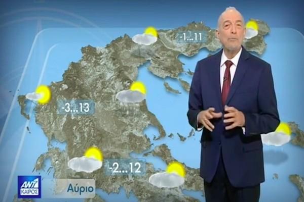 «Προσοχή μεγάλη αυτή την εποχή με τον καιρό»! Ο Τάσος Αρνιακός μας προειδοποιεί! (video)