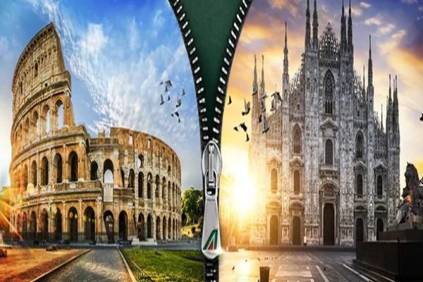 Πόσο κοστίζουν τα αεροπορικά εισιτήρια για Ιταλία, μετ' επιστροφής, αν ταξιδέψεις αύριο;