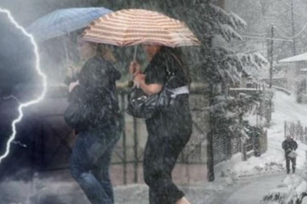 Έκτακτο δελτίο επιδείνωσης καιρού: Χιόνια μέχρι και στη Θεσσαλονίκη - Ποιες περιοχές θα πληγούν περισσότερο;