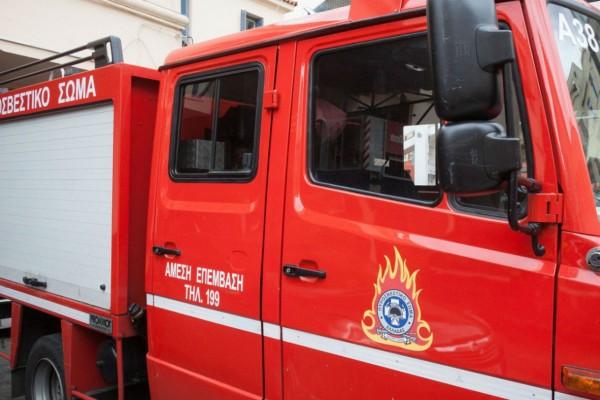 Φωτιά στο Κολωνάκι