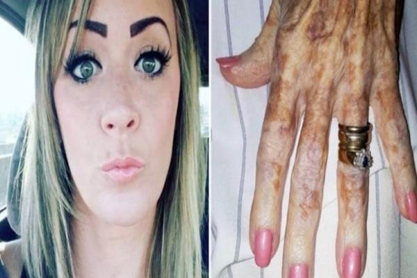 Δημοσίευσε την φωτογραφία με τα νύχια της γιαγιάς και προκάλεσε σάλο - Παρατηρήστε την καλύτερα και θα καταλάβετε