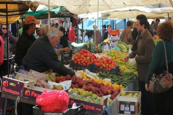 Κορωνοϊός: Λουκέτο και στις λαϊκές αγορές!