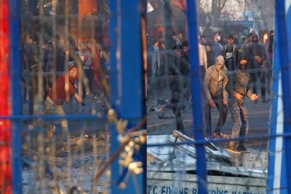 Τραγικές καταστάσεις στα σύνορα: Με πέτρες, μολότοφ και δακρυγόνα οι προσπάθειες εισβολής από μετανάστες