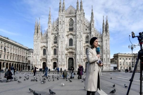 Έπαψες Μιλάνο να θυμίζεις: Ο κορωνοϊός το μετέτρεψε σε πόλη φάντασμα