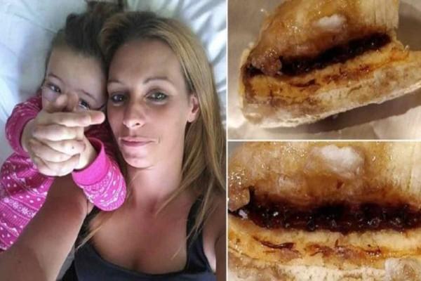 Αηδία: Μητέρα δαγκώνει μια μπανάνα από πασίγνωστο σούπερ μάρκετ και ανακαλύπτει αυγά αράχνης