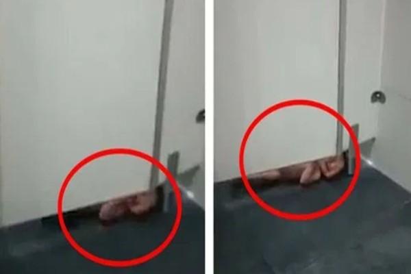 Παράτησαν νεογέννητο βρέφος στο πάτωμα τουαλέτας λόγω... κορωνοϊού (video)