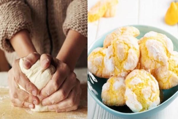 Νηστίσιμα κουλουράκια με γεύση λεμόνι χωρίς βούτυρο και αυγά, έτοιμα σε 35 λεπτά