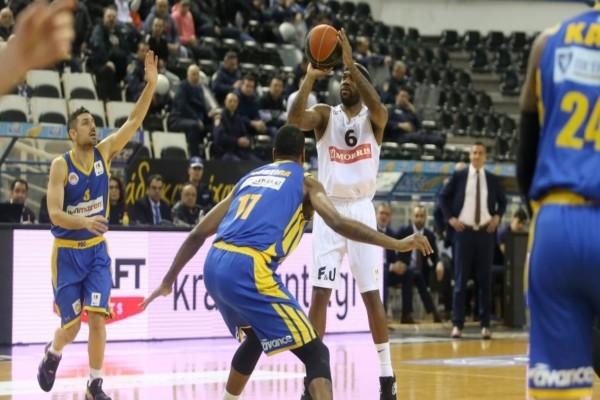Basket League, ΠΑΟΚ - Περιστέρι 68-75: Μεγάλη ανατροπή!