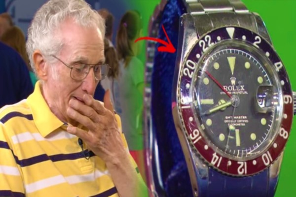 Παππούς πήγε με ένα ρολόι σε μια έκθεση - Όταν το είδαν δεν μπορούσαν να πιστέψουν ότι...