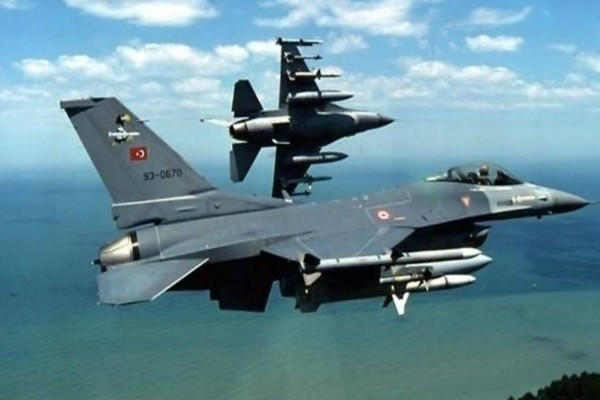 Συναγερμός στο Αιγαίο! Τουρκικά F-16 πέταξαν πάνω από τη Ρω!