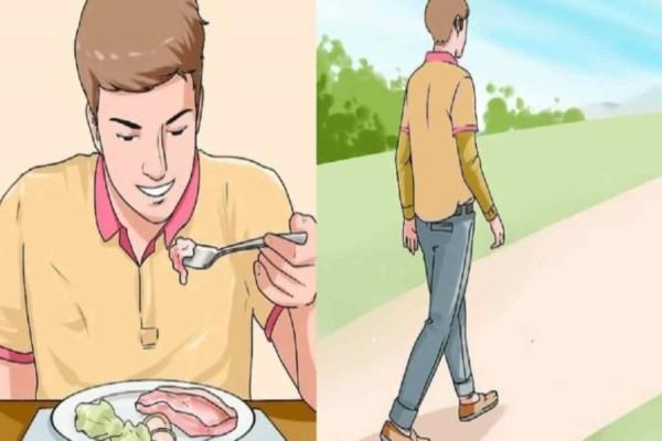 Εκπληκτικό: Τι θα συμβεί στο σώμα σας αν περπατήσετε για 15 λεπτά αμέσως μόλις φάτε