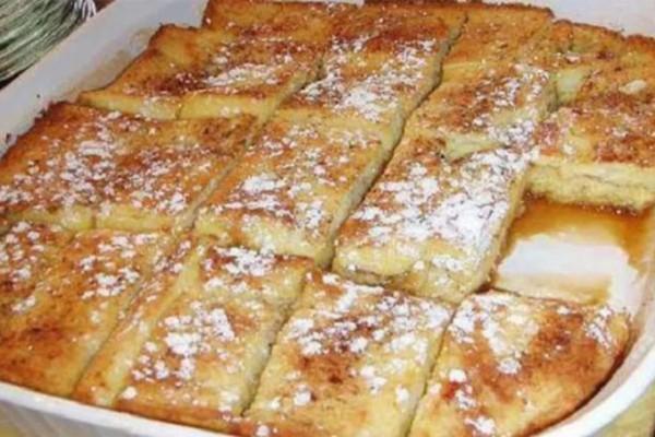 Πρωϊνό με ψωμί του τοστ στον φούρνο, κανέλα και μέλι - Θα ξετρελαθείτε