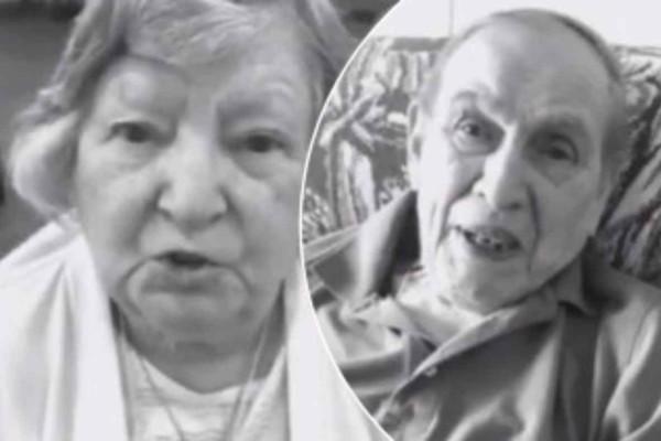 Συγκινεί αυτό το ηλικιωμένο ζευγάρι που βρίσκεται στην απομόνωση λόγω του κορωνοϊού