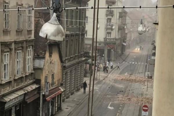 Σεισμοί πάνω από 5 Ρίχτερ στην Κροατία - Σοβαρές καταστροφές