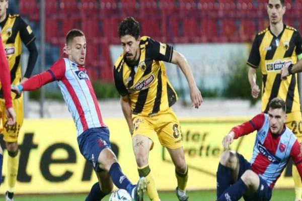 Super League: Έσωσε το βαθμό στις καθυστερήσεις η ΑΕΚ