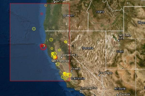Σεισμός 5,8 Ρίχτερ - Μόλις 10χλμ το εστιακό βάθος