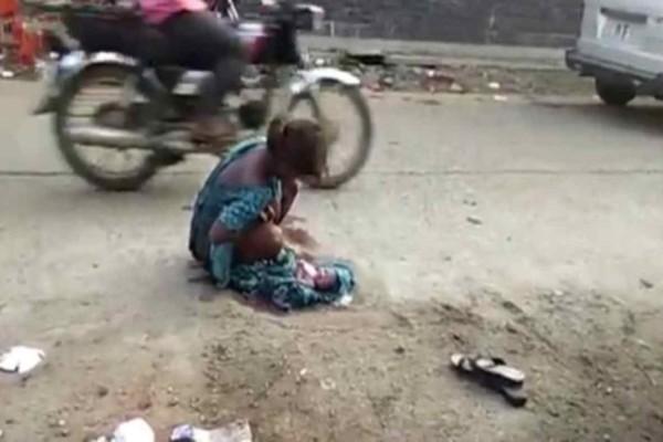 Ντροπή: Σοκαριστικές εικόνες με 17χρονη να γεννά στην μέση του δρόμου -  Την έδιωξαν από το μαιευτήριο επειδή δεν είχε συνοδό!