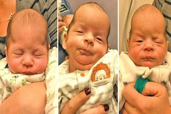 Όταν είδε τα τρίδυμα που γέννησε παρατήρησε ότι τα κεφάλια τους είχαν περίεργο σχήμα - Η διάγνωση την έκανε να παγώσει