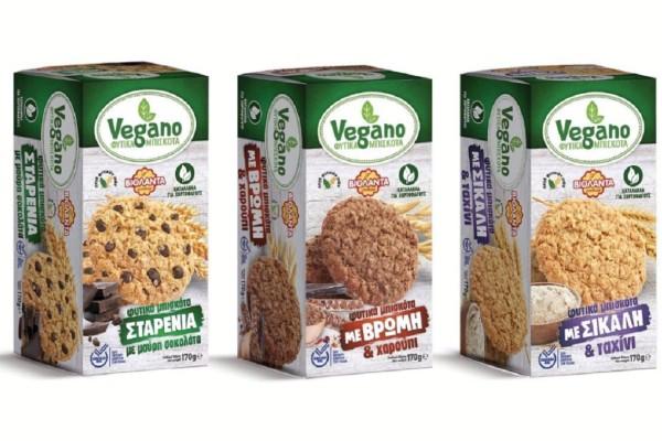 Vegano: Τα Φυτικά μπισκότα από τη Βιολάντα!