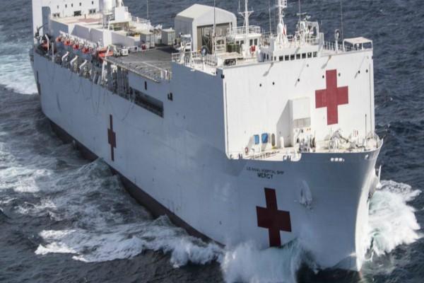 Συναγερμός σε πλωτό νοσοκομείο στο Λος Άντζελες: Εντοπίστηκαν 7 κρούσματα σε νοσηλευτικό προσωπικό