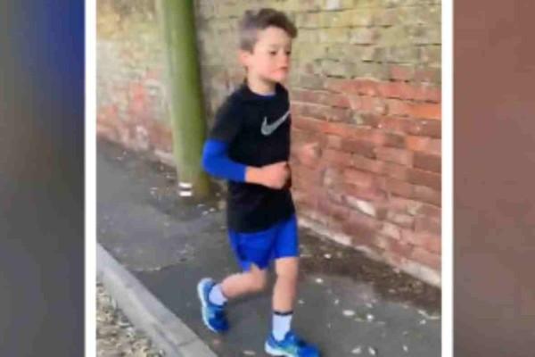 Αυτός ο 6χρονος έγινε πρότυπο προς μίμηση αφού έτρεξε 100 μίλια ώστε να μαζέψει χρήματα για καλό σκοπό