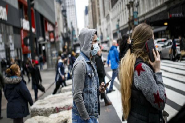 Κορωνοϊός Νέα Υόρκη: Πάνω από 3.000 νέοι
