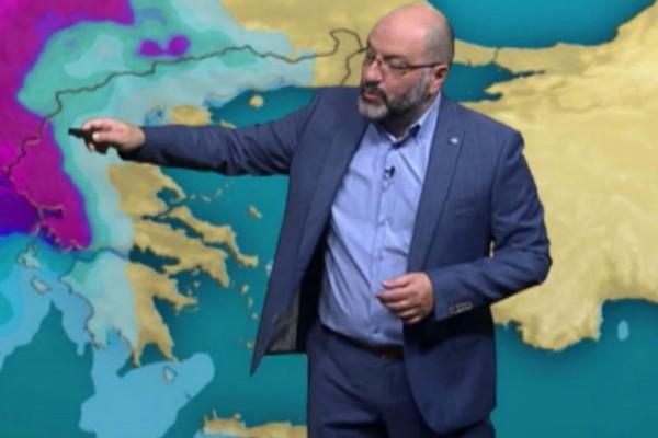 Θα «χτυπήσει» και 27άρια - Αναλυτική πρόγνωση του καιρού από τον Σάκη Αρναούτογλου μέχρι την Κυριακή του Πάσχα (Video)