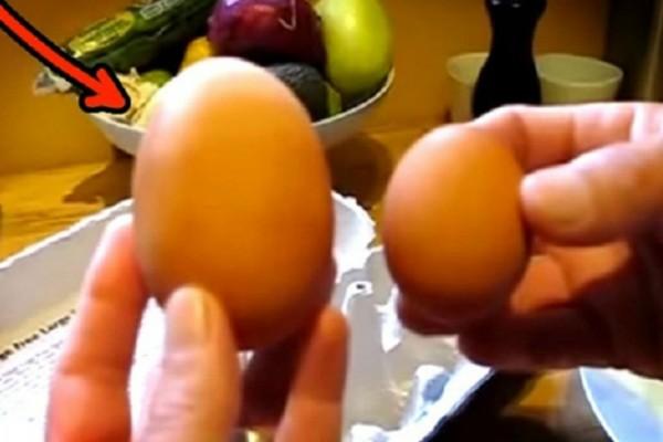 Η κότα τους γέννησε αυτό το τεράστιο αυγό - Δεν φαντάζεστε τι βρήκαν μέσα σε αυτό όταν το έσπασαν (Video)