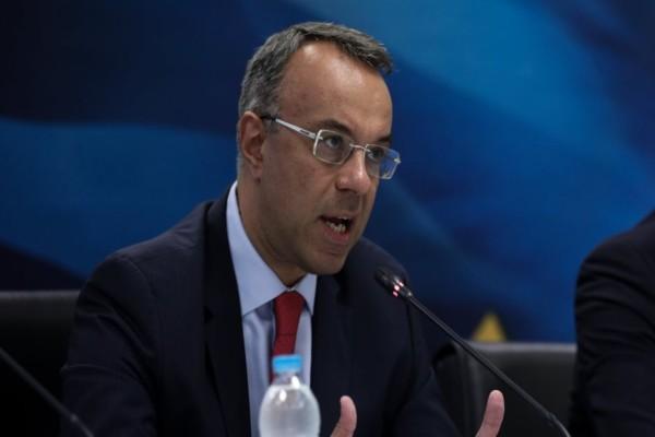 Χρήστος Σταϊκούρας: Περίπου 7-8 δισ. ευρώ αναλογούν στην Ελλάδα