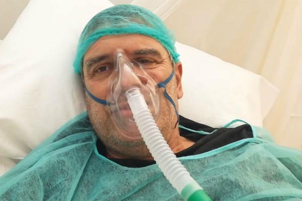 Άλλος άνθρωπος ο Σωτήρης Γεωργούντζος - Νίκησε τον κορωνοϊό και μιλάει μέσα από το νοσοκομείο