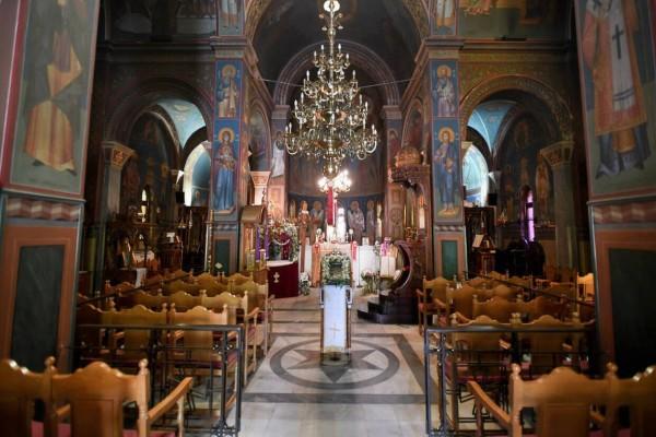 Απαγόρευση κυκλοφορίας: Το ΣτΕ απέρριψε το αίτημα για άνοιγμα των εκκλησιών